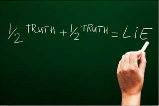 Truth vs lie essay